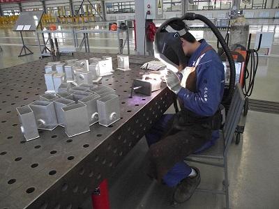 Argon arc welding machine