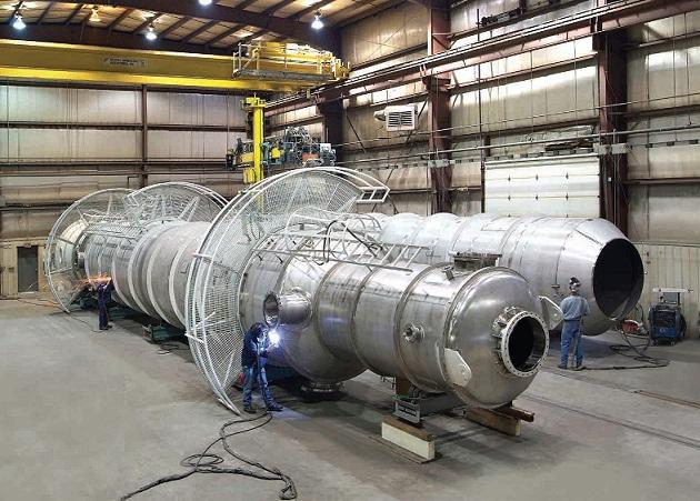 pressure vessel Inconel, Monel, Hastelloy Grades